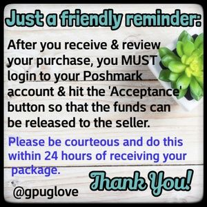 Other - ⭐A reminder for buyers!⭐